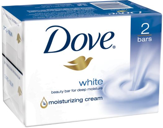 Dove White Beauty Bar Top 10 Most Soap Brands in the World 2018
