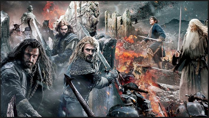 The Hobbit The Battle of the Five Armies Most Expensive Movies Ever 2017