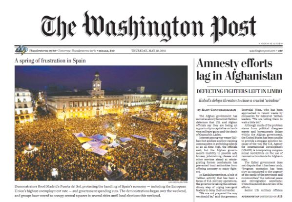 The Washington Post Top most popular read newspapers in the world 2019