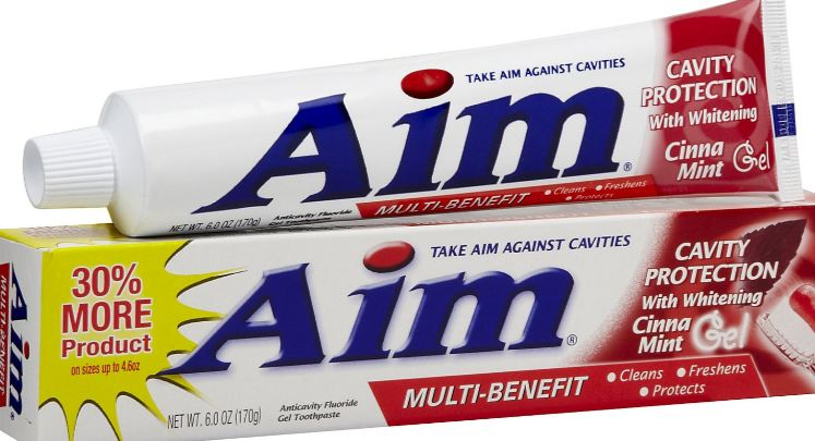 aim, top 10 toothpaste brands in the world 2017