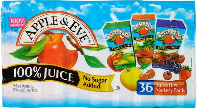 Apple and Eve, World's top 10 Best Packaged Fruit Juice Brands 2017