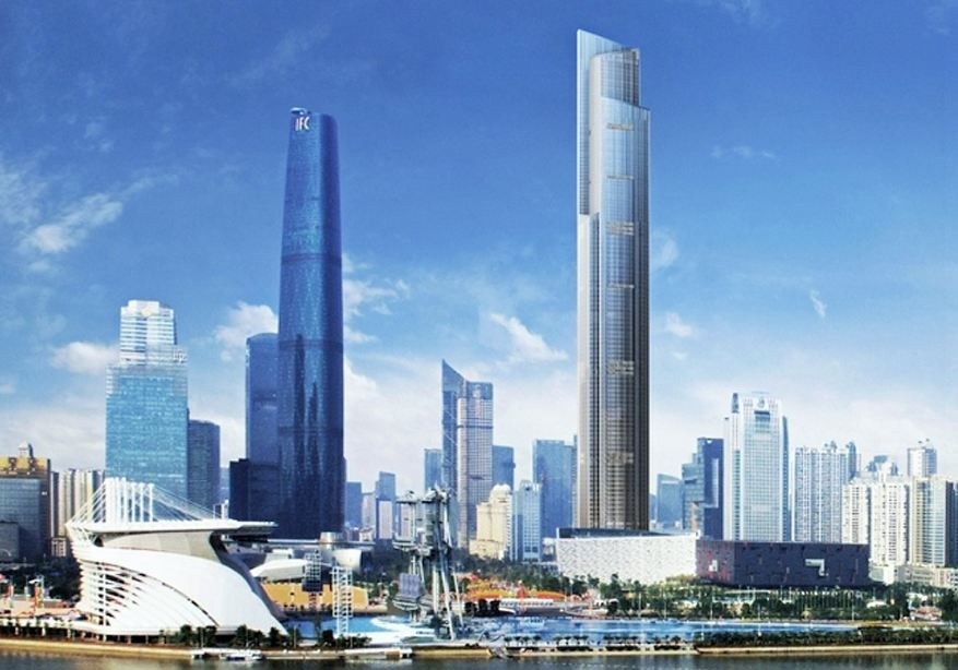 ctf finance center china, Top 10 Tallest Buildings in The World 2019