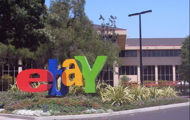 ebay, top most popular online shopping websites in the world 2017