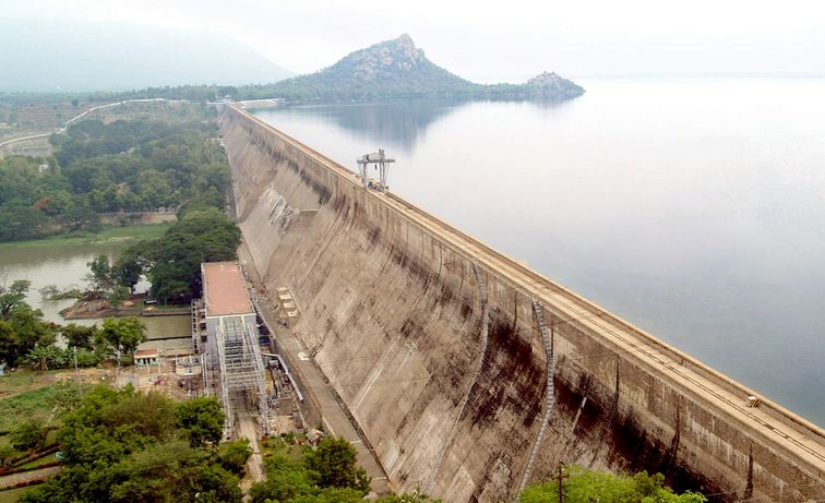 mettur dam tamil nadu, Biggest Dams in India 2019