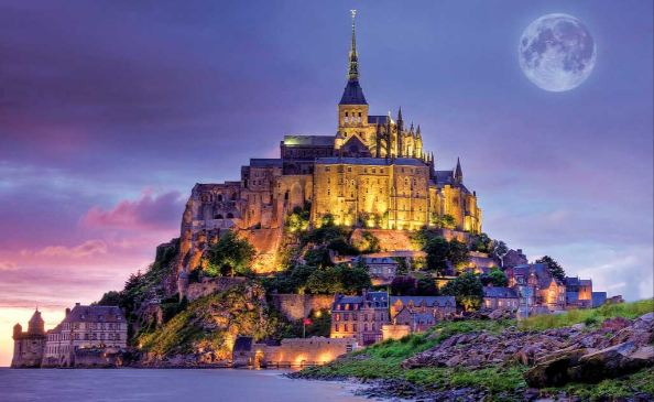 mont saint michel france,Top 20 Best, most beautiful Historical Places in The World 2019