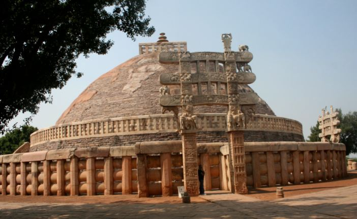 Sanchi Stupa, Sanchi Top Famous Temples in India