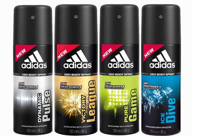 Adidas Top 10 Best Deodorants For Men in The world 2017