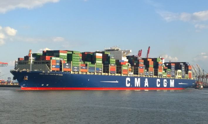 CMA CGM Top 10 Largest Shipping Companies in The World 2017