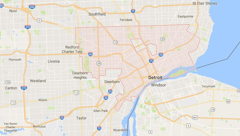 DETROIT Top Famous biggest cities in The World By Area 2019