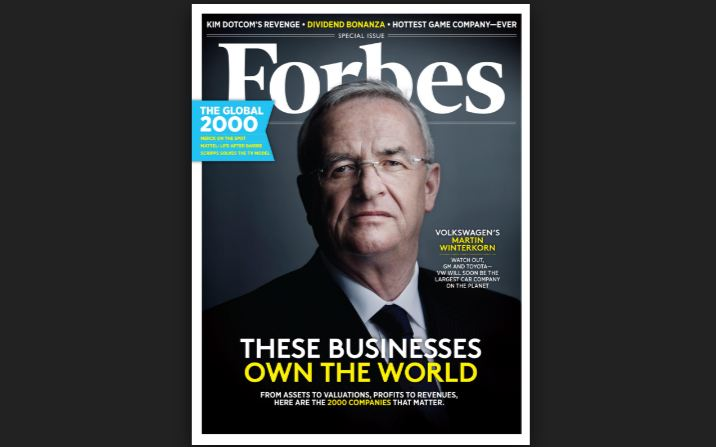 Forbes Top Famous Read Business Magazines 2019