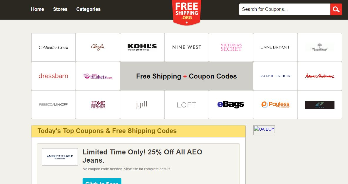 FreeShipping Top 10 Best Coupon Sites in The World