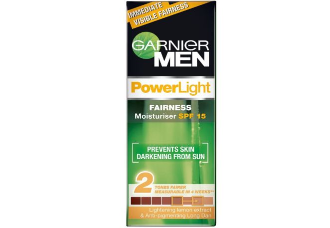 Garnier for Men PowerLight Moisturiser Top Popular Fairness Creams For Men in The World 2018