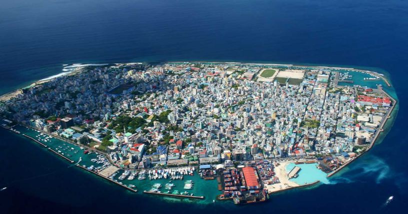 Maldives Top 10 Most Densely Populated States in The World