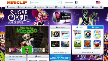 Miniclip Top Famous Gaming Websites in The World 2019
