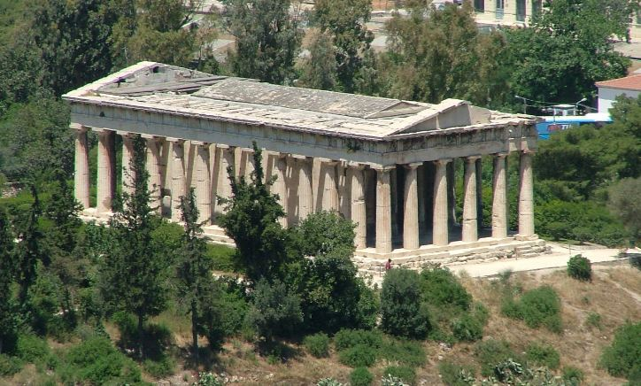 temple-of-hephaestus-greece
