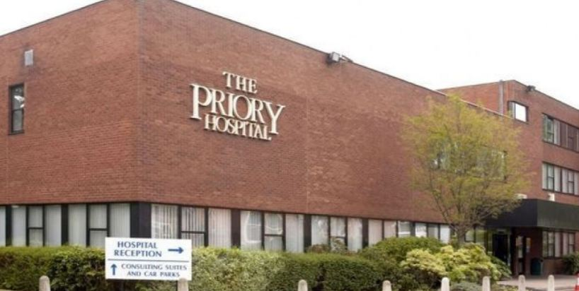 The Priory in UK Top Famous Hospitals in The World 2019