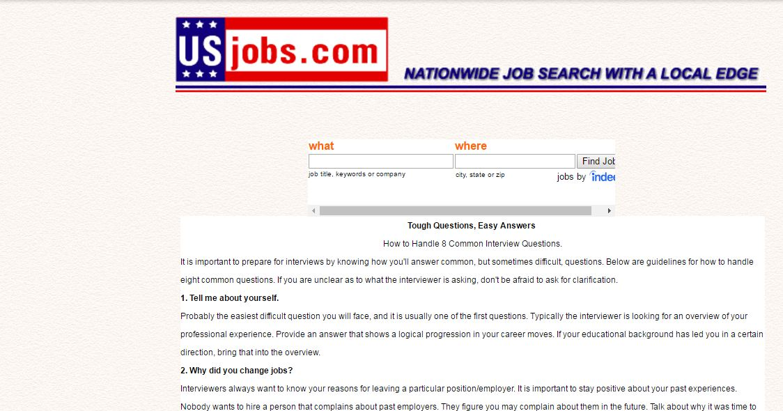 us job sites