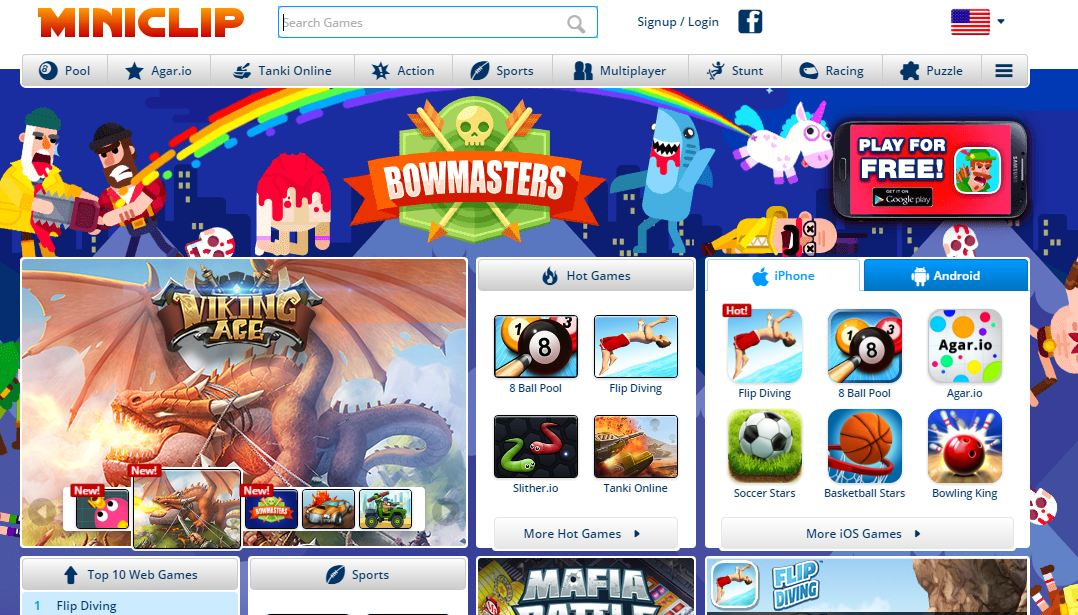 miniclip-top-famous-online-gaming-sites-in-india-2019