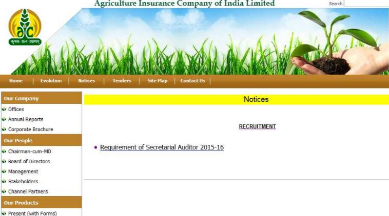 Agriculture Insurance Company of India Limited