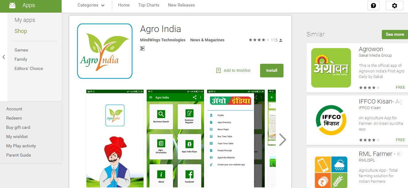 Agro Top Most Famous Expensive Apps 2018