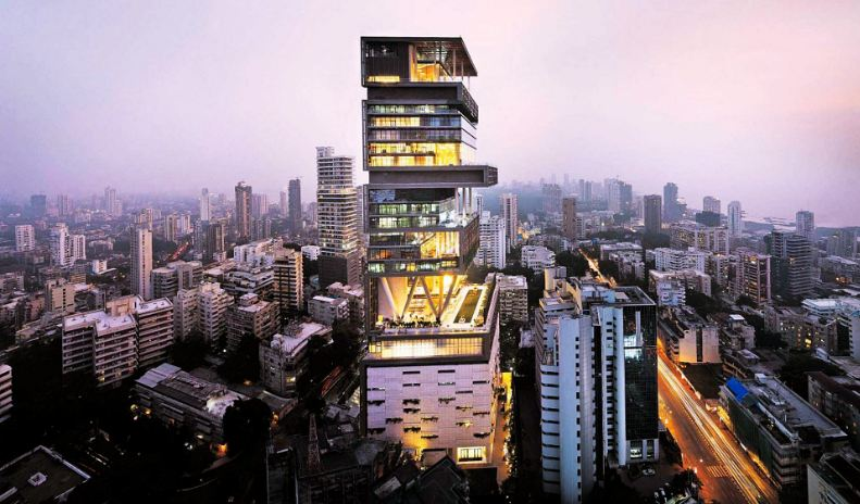 antilia top 10 most beautiful houses in the world 2017 - Biggest House In The World 2017