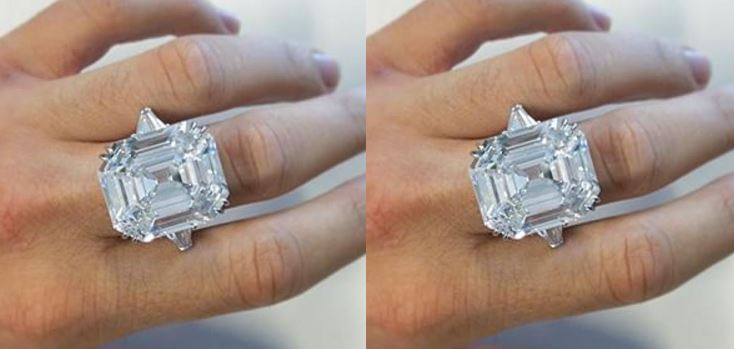 asscher cut krupp diamond ring top most famous - Beautiful Wedding Rings