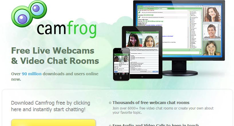 Webcam sharing site