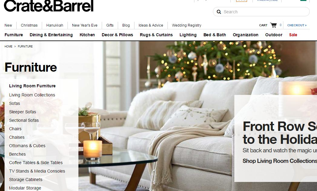 crate and barrel top popular best furniture websites. Top 10 Best Furniture Websites 2017  Most Popular Sites List