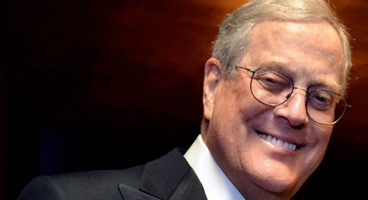 David Koch Top Most Famous Richest U.S. Citizens 2018
