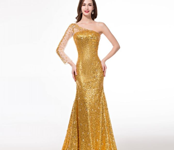 Golden Evening dress Top Famous Expensive Dresses 2019