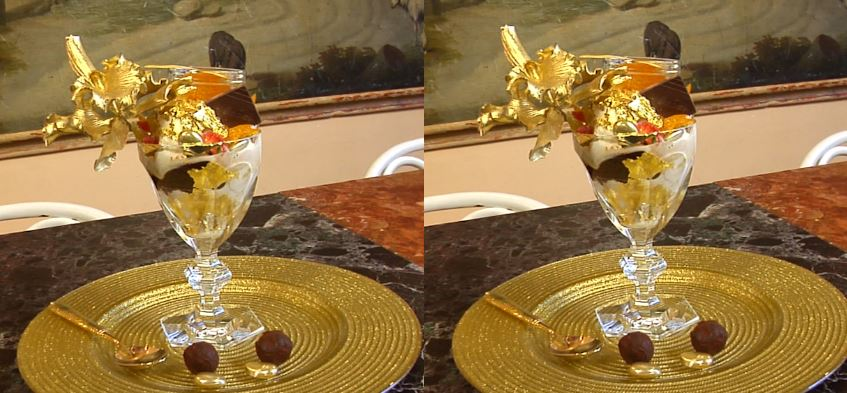 Golden Opulence Sundae Top Most Expensive Desserts in The World 2017