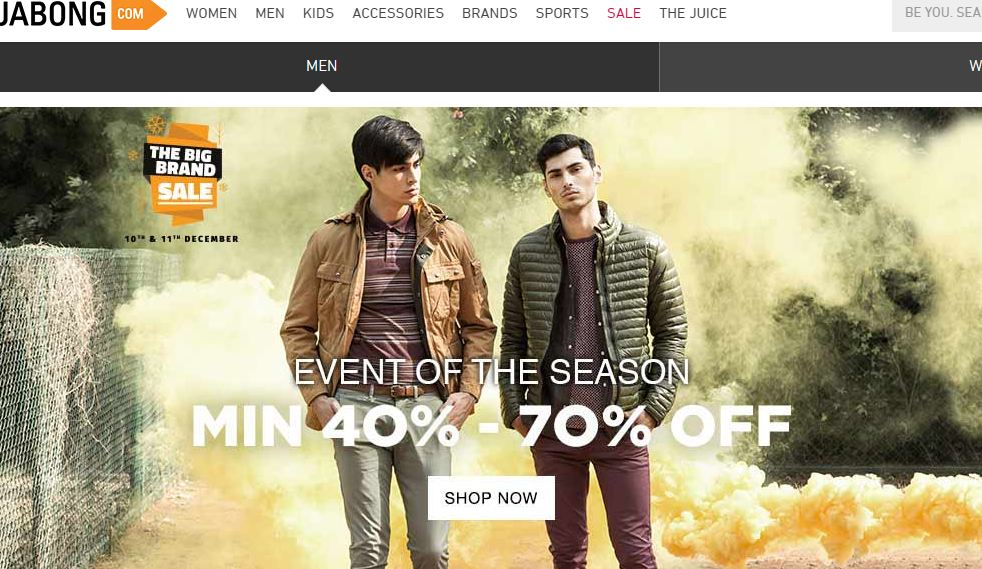 jabong-top-famous-online-shopping-websites-in-india-2019