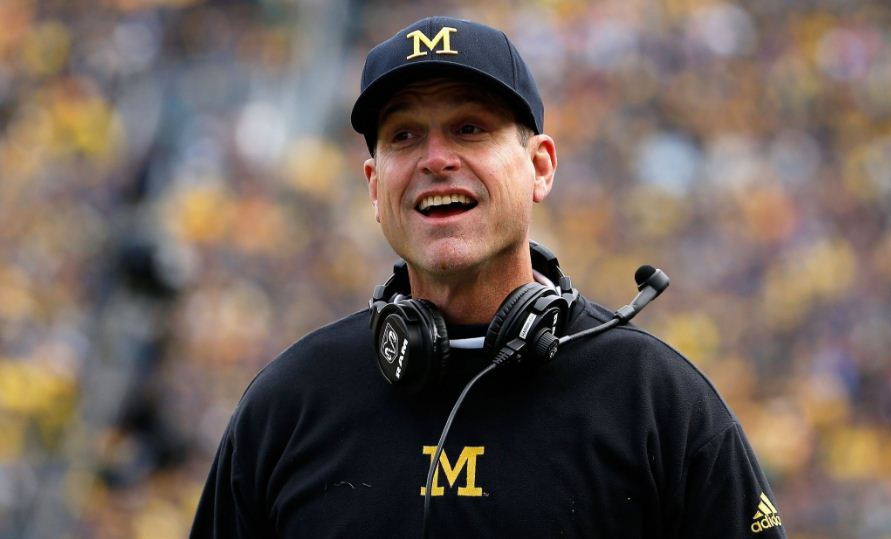 jim harbaugh, Top 10 Highest Paid College Coaches in The World 2017
