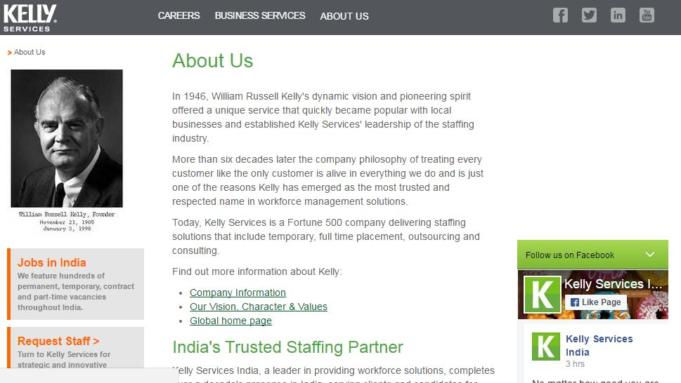 kelly-services-top-ten-most-famous-hr-companies-of-the-india-2017-2018