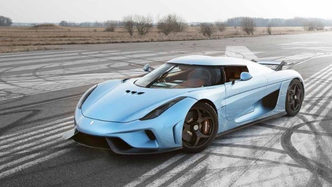 Koenigsegg Regera Top Famous Expensive Luxury Cars in The World 2019