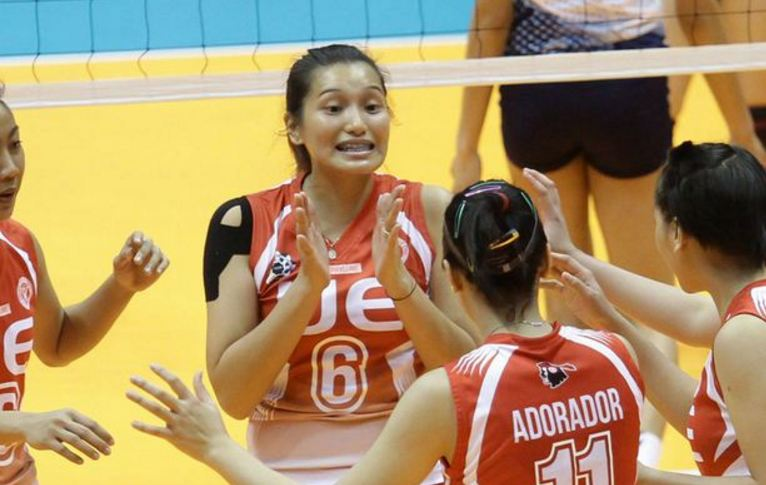 leuseht dawis, Top 10 Most Beautiful UAAP Volleyball Players in The World 2017