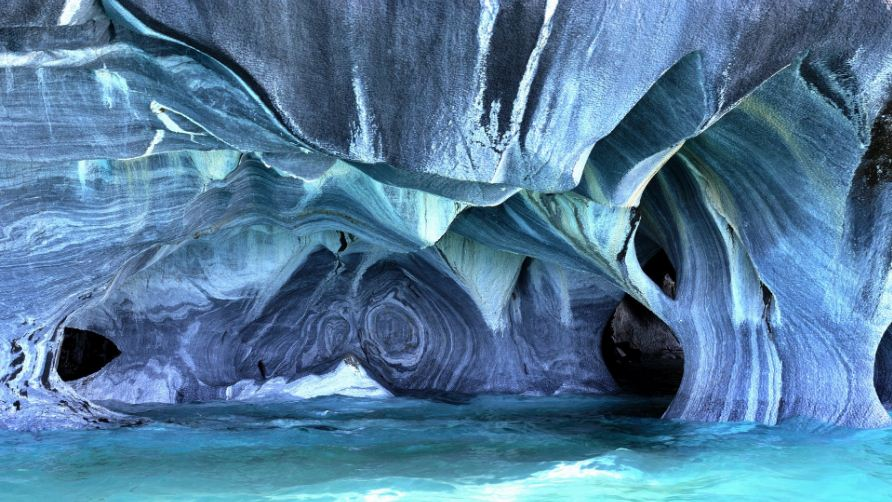 Marble Caverns of Carrera Lake – Chile, Top 10 Most Beautiful Places To Visit in The World 2019