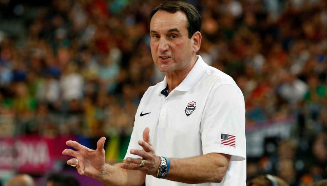 mike krzyzewski, Top 10 Highest Paid Basketball Coaches in The World 2019