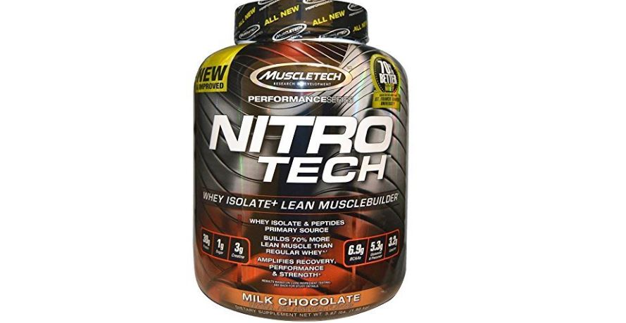 MuscleTech NitroTech Performance Series Top 10 Selling Supplements Dietary