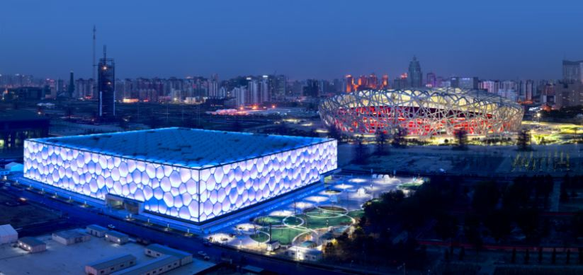 national aquatics center, Top 10 Most Beautiful Stadiums in The World 2017