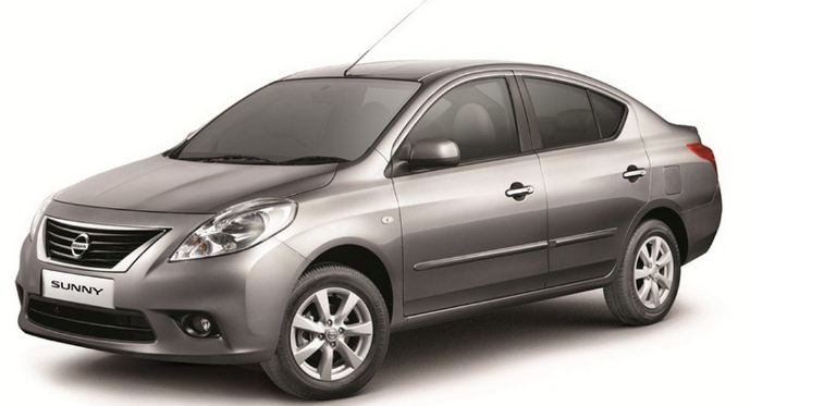 nisan-sunny-best-mileage-sedan-cars-in-india-under-10-lakh-rupees