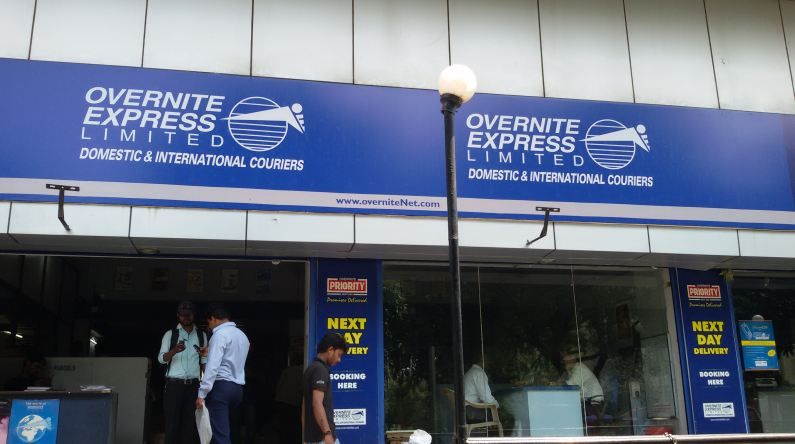 overnite express limited, Top 10 Best Courier Services Companies in India 2017