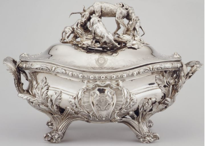 Soup Tureen of Louis XV Top Most Famous Most Expensive Antiques 2017
