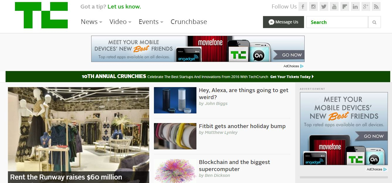 techcrunch-top-10-most-popular-best-ebusiness-websites