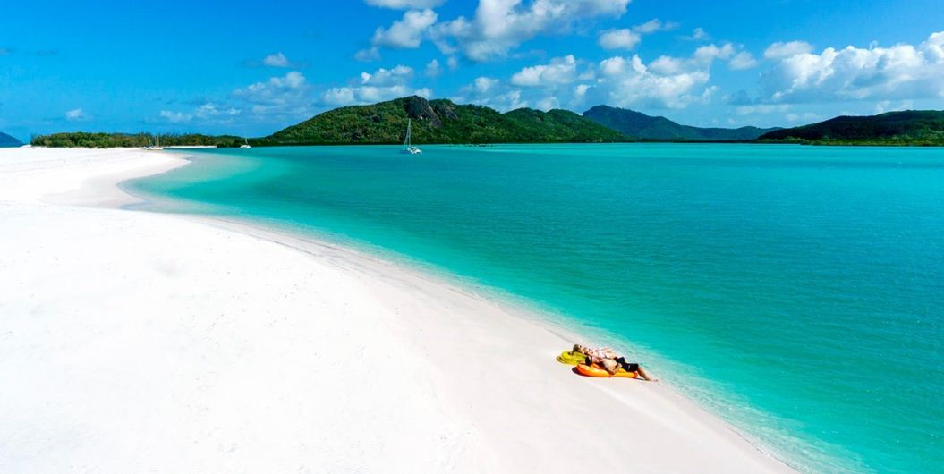 whitehaven beach, Top 10 Most Beautiful Places To Visit in The World 2017