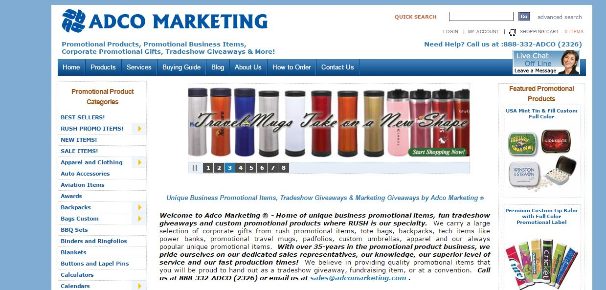 AdCoMarketing Top Most Promotional Gift Item Suppliers in The World 2017