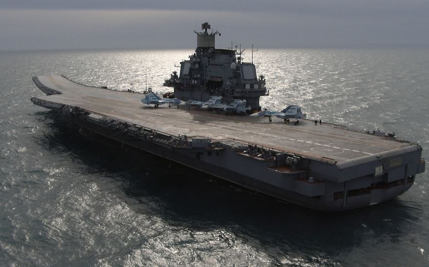 Admiral Kuznetsov- Russia Top 10 Largest Aircraft Carriers in World 2017