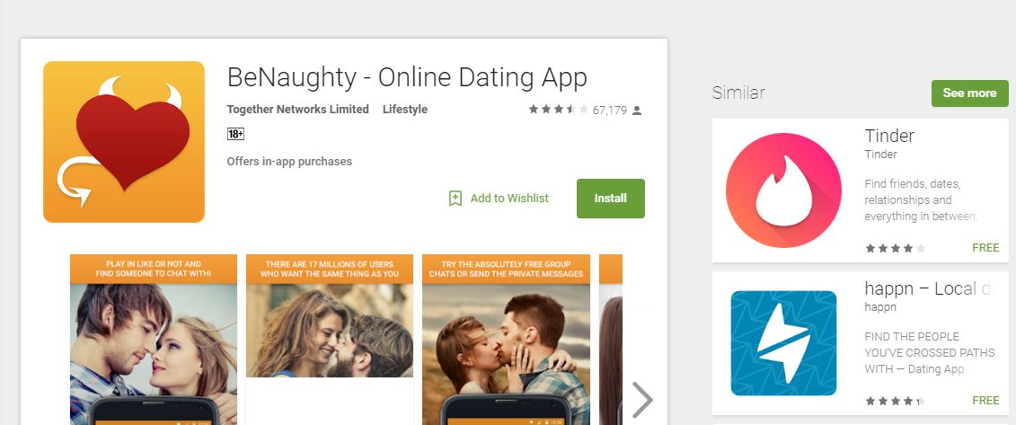 Most common dating sites