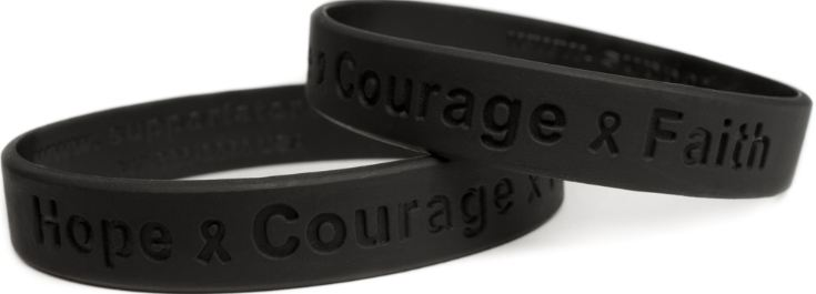 Black Top 10 Best Livestrong Wristband Colors 2017