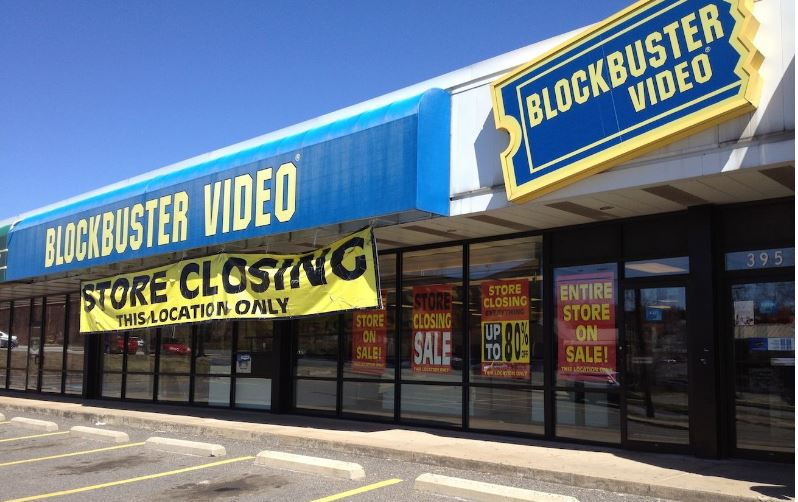 Blockbuster Top Most Failed Brands of All Time 2017